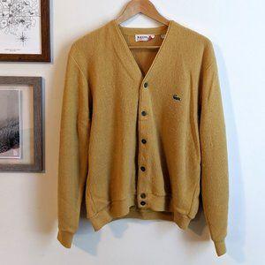 Vintage Izod Mr. Rogers Lacoste Cardigan Sweater